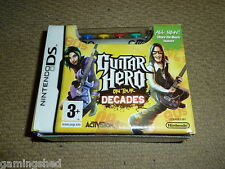GUITAR HERO ON TOUR DECADES PACK NINTENDO DS LITE BRAND NEW Grip Controller Game