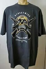PLATA O PLOMO Streetwise Clothing Men's T Shirt Dark Gray Size L Pablo Escobar