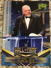 2018 Topps WWE Hall Of Fame Tribute Ultimate Warrior #20 Enters Hall Of Fame