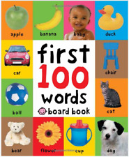 Baby Gift First 100 Words Board Book Kids &Toddlers Brighter Child Learning