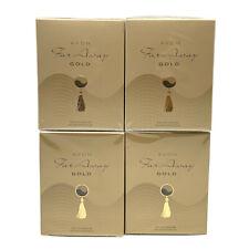4 x AVON Far Away Gold Eau de Parfum 50ml - 1.7 fl.oz SET