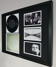 Joy Division Framed ORIGINAL Rare Love Will Tear Us Apart Vinyl Ian Curtis