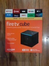 Amazon Fire TV Cube (2nd Gen)16GB 4K UHD Media Streamer - Black BRAND NEW