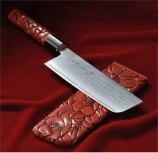 Tojiro:Wa-Urushi Murakami:FD898: Nakiry coltello artig. damasco/lacca giapponese
