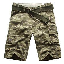 Denim Cargo Shorts for Men