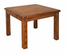 Vellar Chunky Solid Sheesham Indian Rosewood 90 CM Dining Table