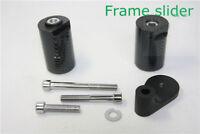 Carbon No Cut Frame Slider Crash Protect Set For 2001-2002 Suzuki GSXR1000 K1 K2