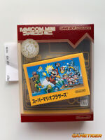 SUPER MARIO BROS Famicom Mini Nintendo Game Boy Advance GBA JAPAN Ref:184149