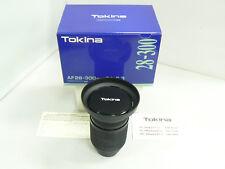 Tokina - 28-300mm f/4-6.3 - Lens for Sony/Minolta Auto Focus Analog Film Cameras