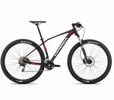 2015 Orbea Alma H50 29er Mountain Bike Black & Red Shimano Deore XL MSRP $1449