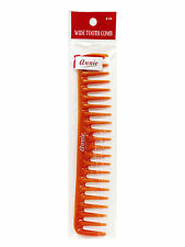 Annie Wide Tooth Comb Rake Bone Hair Brush Long Shampoo Line #44 *Random Color