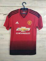 Manchester United Jersey 2018 2019 Home XS Shirt Football Soccer Trikot Adidas