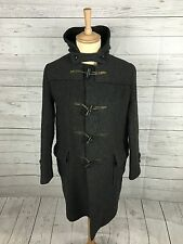"Mens Vintage Citizen Duffle Coat - Medium 42"" - Wool Blend - Great Condition"