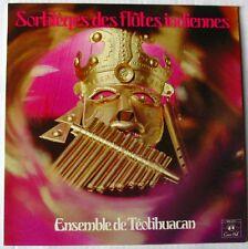 ENSEMBLE DE TEOTIHUACAN (LP 33 Tours)  SORTILEGES DES FLUTES INDIENNES VOL 2