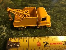 Vintage Lesley Matchbox  Diecast No. 13 Yellow Thames Trader Wrecker Truck