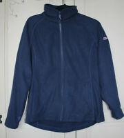 Berghaus Women's Navy Blue Full Zip Up Fleece Size UK 12 Good Used Condition