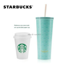 New 2021 China Starbucks 591ml Shell Stainless Steel Straw Cup