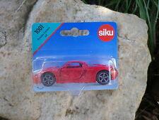 SIKU 1001 PORSCHE CARRERA GT rouge. Neuf en boite blister scellé
