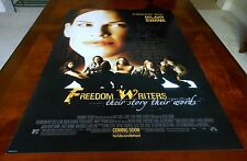 FREEDOM WRITERS Orig 27x40 Rolled Poster MINT COND Hillary Swank PATRICK DEMPSEY