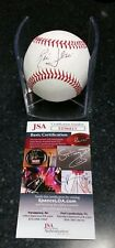 RIC FLAIR WWE WRESTLING SIGNED ROMLB BASEBALL W/JSA CERT NATURE BOY