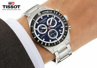 TISSOT PRS 516 T0444172104100 Blue Dial Chronograph Men's Watch