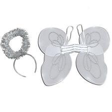 ENFANTS # Noël Kit Ange Ensemble Blanc Ailes Halo déguisement fête accessoire