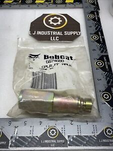 NEW! BOBCAT 6674688 FF Male Quick Coupler_MULTIPLE IN STOCK_WARRANTY_FAST SHIP!