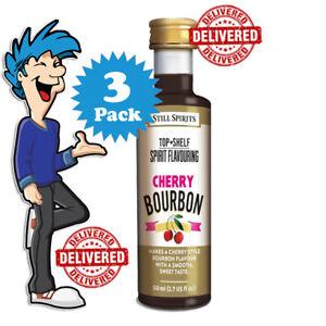 Cherry Bourbon Spirit Essence x 3 @ $33.99 By Still Spirits Top Shelf