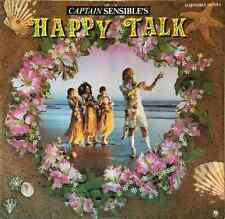 "CAPTAIN SENSIBLE ‎- Happy Talk (12"") (VG+/VG)"
