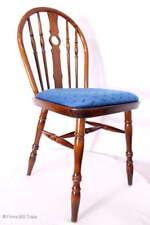Polsterstuhl engl Windsor Stil Massivholz Rundbogenlehne Küchenstuhl 4 Vorhanden