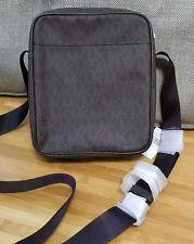 db6547297c06 Authentic Original Michael Kors MK Med Flight Mens Bag - Black