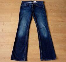 GAP Ladies Long & Lean Bootcut Stretchy Blue Jeans Size W28 L34