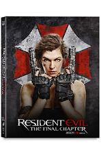 Resident Evil: The Final Chapter (2017, Blu-ray) Full Slip Steelbook kimchiDVD