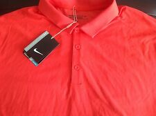 Nike Golf Tour Performance men's bright red dri-fit polo shirt, size XL,NWT