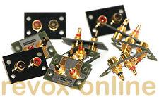 10 distance Extension des cinchbuchsen RCA STUDER REVOX b750 MK II l'original