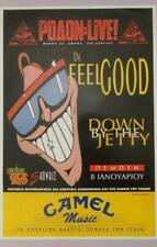Dr FEELGOOD BIG GREEK POSTER LIVE at RODON ATHENS GREECE JAN. 1998