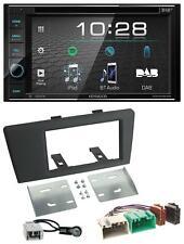 Kenwood USB DVD DAB MP3 Bluetooth 2DIN Autoradio für Volvo S60 S70 C70 V70 00-03