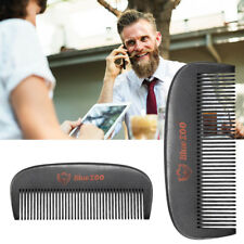 FT- Blue ZOO Hair Beard Comb Mini Wooden Anti-Static Grooming Styling Tool Eyefu