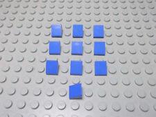 Lego 10 Dachsteine blau 1x1 30 Grad 50746 o. 54200 Set 7939 5767 5771 7994