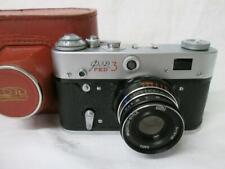 FED-3 Russian Camera Industar-61 55mm 1:2.8 Lens (Cased)