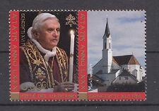39 3 Gestempelte Briefmarken Vatikan 1 Mit Benedikt Xvi Nr