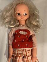 "Vintage ItaloCremona Doll 1970 Italy 18"""