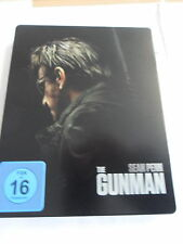 The Gunman-steelbook version-Blu-ray top