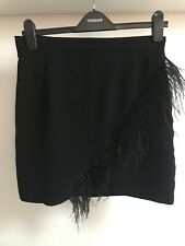 Topshop Feather Skirt