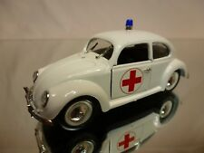 RIO 1:43 -  VOLKSWAGEN BEETLE ROTES KREUZ  - VERY GOOD CONDITION.