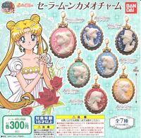 New BANDAI Sailor Moon Cameo Charm Mascot Complete Set of 7 Japan