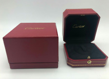 GENUINE CARTIER ring case box jewelry 0311003m