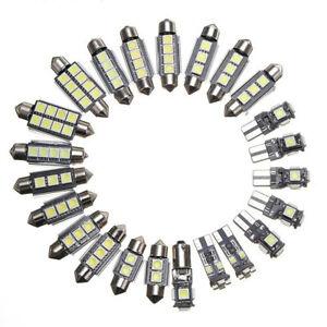 Universal LED Interior Lights Bulbs Kit Car Trunk Dome License Plate Lamps 6000K