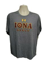 Under Armour Iona College Gaels Adult Large Gray TShirt