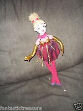 Plush Doll Figure Manhattan Toy Dancer Blonde Clown Ballerina Poseable Flexible